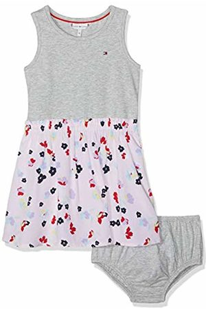 Tommy Hilfiger Baby Girls Scattered Floral Dress Slvls Dress Not Applicable