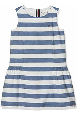 Tommy Hilfiger Girl's Iconic Chambray Dress Slvls (Bright 123)