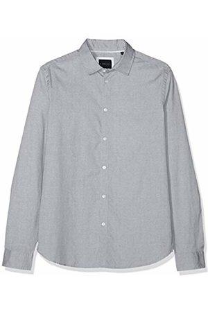 Sisley Men's Casual Shirt, ( Melange 914)