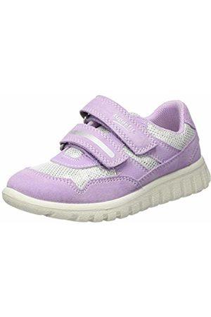 Superfit Baby Girls' Sport7 Mini Low-Top Sneakers (Lila/Weiss 90) 6 UK