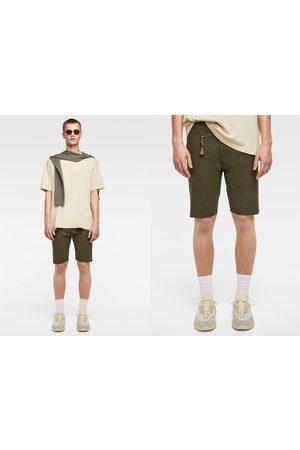 Zara Basic cotton bermuda shorts