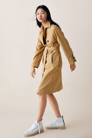 Zara Buttoned trench coat