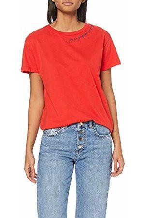 BlendShe Women's Bsbess R Puff Ss T-Shirt, (High Risk 20188)