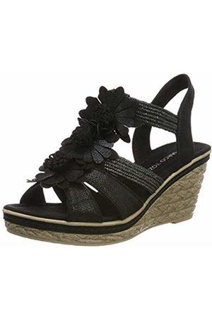 Marco Tozzi Women's 2-2-28302-22 Closed Toe Sandals, ( Met.Comb 011)