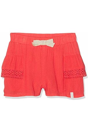 Kiss IKKS Baby Girls' Short FLUIDE Rouge Clair 35