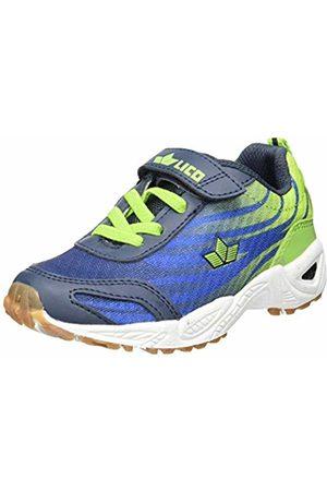 LICO Boys' Ben VS Multisport Indoor Shoes, Blau/Lemon