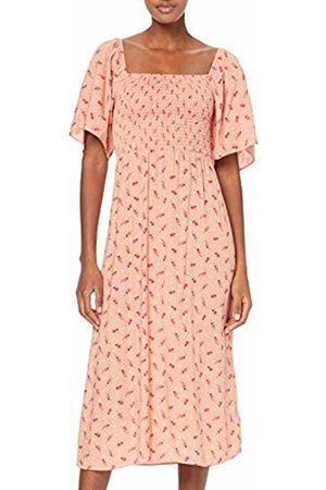 New Look Women's Amber Ditsy Shirred Dress
