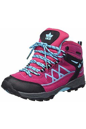 LICO Girls' Griffin High Rise Hiking Boots, /Schwarz/Türkis