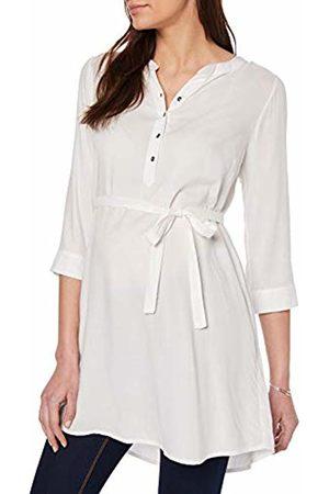 Mamalicious NOS Women's MLMERCY 3/4 Woven Tunic NOOS Maternity Shirt, Snow