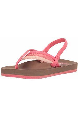 Reef Girls' Little Ahi Beach Flip Flops