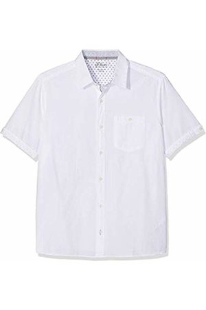 s.Oliver Men's 03.899.22.4578 Casual Shirt, ( 0100)