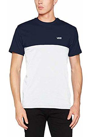 Vans Men's Colorblock TEE T-Shirt, (Dress Blues- Short)