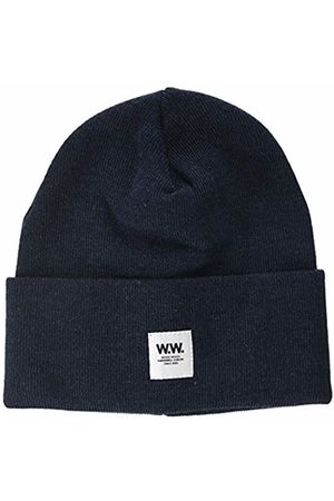 WoodWood Men's's Gerald Tall Beanie Blau