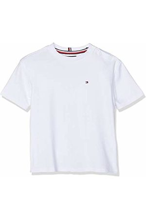 Tommy Hilfiger Baby Boys' Boxy Back Print Tee S/s T-Shirt, (Bright 123)