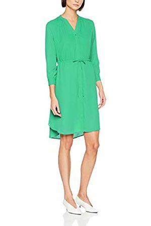 Selected Women Dresses - Femme Women's SLFDAMINA 7/8 Dress, Grün Gumdrop