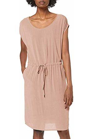 Object Women's Objbay Dallas S/s Dress Noos Adobe Rose