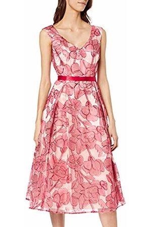 Vera Mont Women's 2177/3572 Dress ( /Nature 4816) 12 (Size: 38)