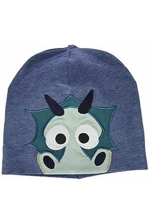 Green Cotton Boy's Dragon Beanie Scarf, Hat & Glove Set
