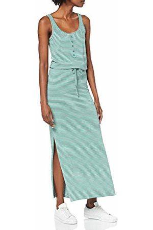 Object Women's Objstephanie Maxi Dress Noos ( Spruce Stripes)
