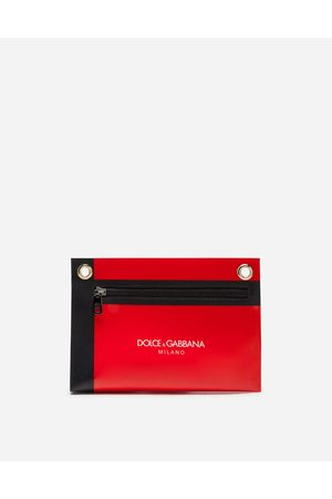 Dolce & Gabbana Small Leather Goods - SMALL BEAUTY CASE WITH LOGO STRAP