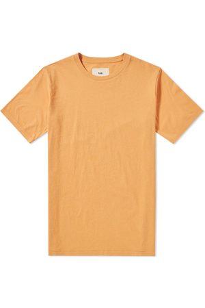 Folk Contrast Sleeve Tee Bitter Orange