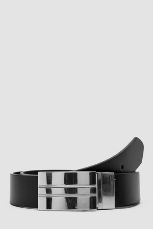 Boohoo Faux Leather Reversible Belt