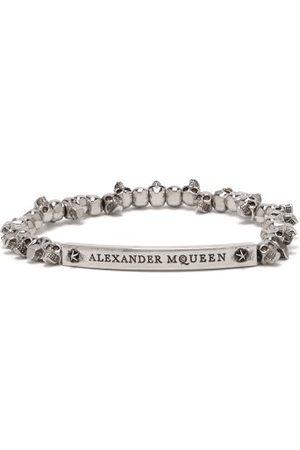 Alexander McQueen Men Bracelets - Skull Bead Bracelet - Mens