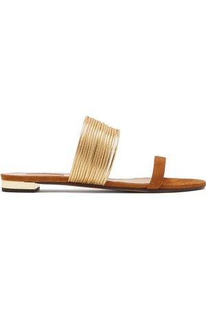 Aquazzura Rendez Vous Suede Sandals - Womens