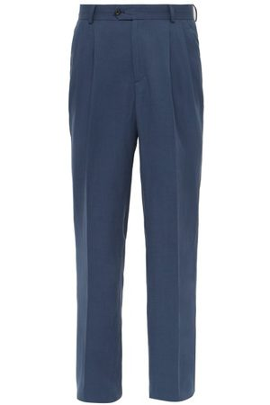 EDITIONS M.R Men Formal Trousers - Paul High Rise Pleated Trousers - Mens