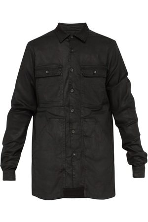 Rick Owens Patch Pocket Denim Jacket - Mens