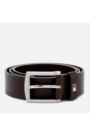 Tommy Hilfiger Men's New Denton Belt 3.5 - Testa Di Moro - 85cm/S