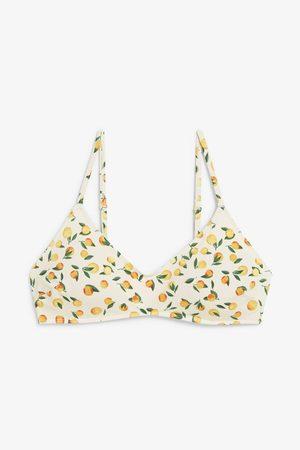 Monki Padded bikini top