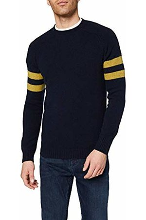 Celio Men's's Meschool Turtleneck, Navy