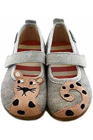 Living Kitzbühel Girls' Ballerina Leopard Low-Top Slippers