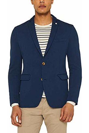 Esprit Men's 039ee2g006 Blazer, (Dark 405)