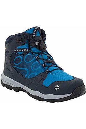 Jack Wolfskin Boys' Akka Texapore Mid B Wasserdicht High Rise Hiking Shoes, (Night 1010)