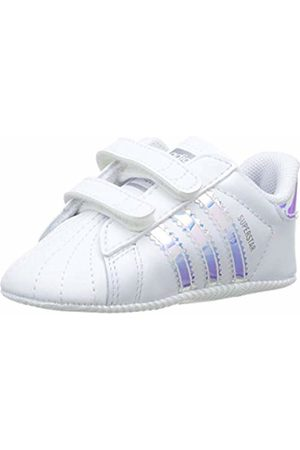 adidas Unisex Babies' Superstar Crib Gymnastics Shoes, 19 EU