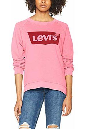 Levi's Women's Relaxed Graphic Sweatshirt, (Hsmk Crew Sachet 0026)