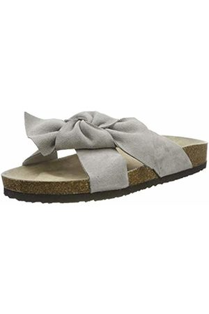 Caprice Women's Ichy Ankle Strap Sandals, (Lt Suede 201)