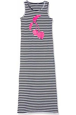 Name it Girl's Nkfvippa Sl Maxi Dress Noos (Bright Print: Cherry)
