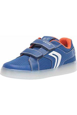 3fd35245e Geox Boy's J Kommodor A Low-Top Sneakers. Blue / Orange