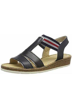 ARA Women's Positano 1216119 T-Bar Sandals, ((Titan