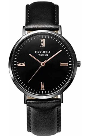 ORPHELIA Mens Analogue Classic Quartz Watch with Leather Strap OF761802