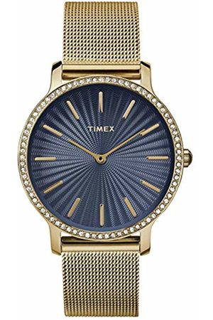 Timex Womens Analogue Classic Quartz Watch with Stainless Steel Strap TW2R50600