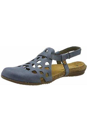 El Naturalista Women's N5063 Pleasant Vaquero/Wakataua Closed Toe Sandals