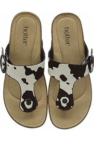 Hotter Women's Resort Flip Flops (Cow Print 304) 9 (43 EU)