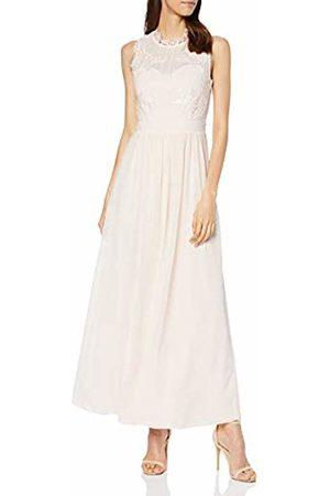 Vila Women's Vigeorgious S/l Maxi Dress Party, Peony