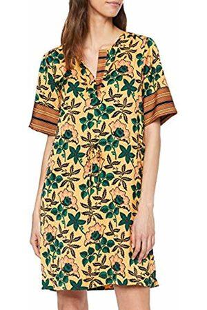 eacae1142dc958 Scotch Soda Maison Women s Mixed Print Dress with Waist Drawcord (Combo ...