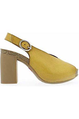 Yokono Women's Triana 064 Vaquetilla Open Toe Sandals (Mostaza 007) 3 UK
