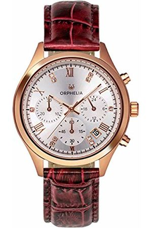 ORPHELIA Womens Chronograph Quartz Watch with Leather Strap OR31804